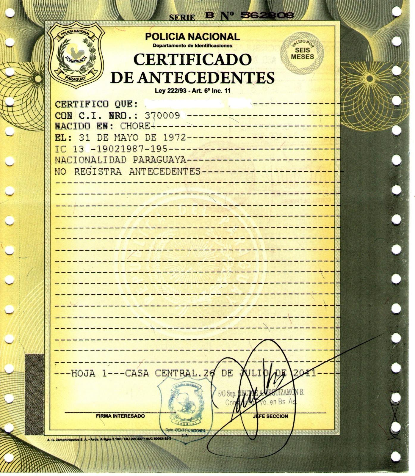 Radicarse en Argentina | Consulado del Paraguay en Cordoba