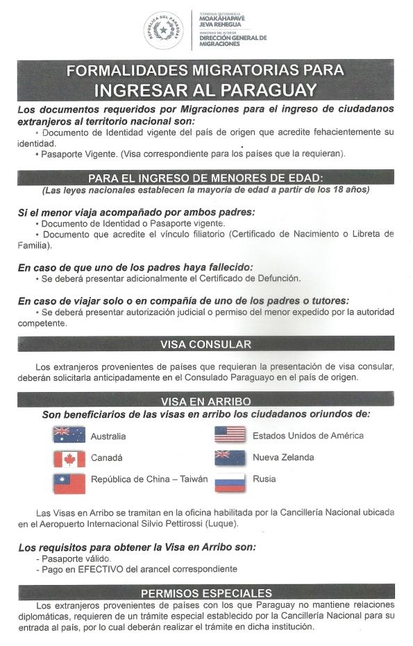 formalidades-migratorias-para-ingresar-al-paraguay